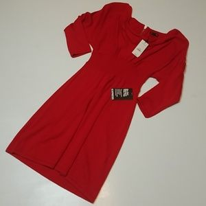 Express - Quarter Sleeve Sweater Dress